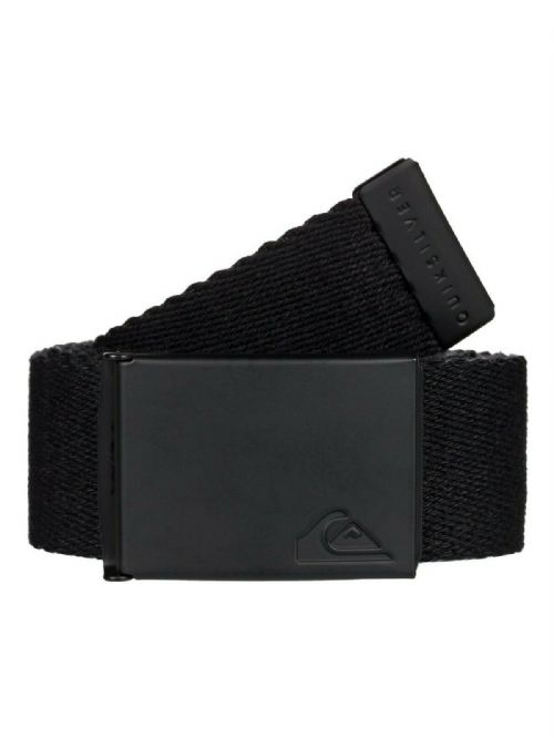 QUIKSILVER MENS BELT.NEW THE JAM 5 38MM BLACK REVERSIBLE TROUSERS JEANS STRAP 9W